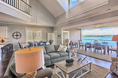 Northern Michigan home interior