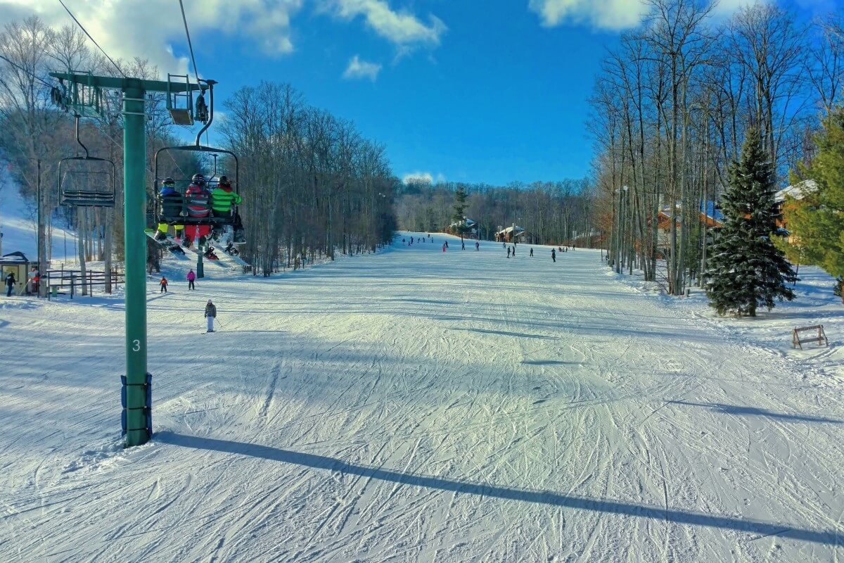 Boyne Mountain ski hill